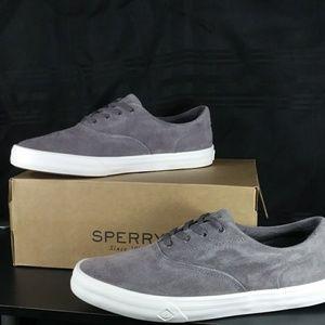 NIB! Sperry Striper II CVO Suede Grey